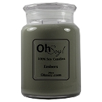 26oz. Jar Soy Candle - Embers