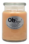 26oz. Jar Candle  -  Jersey Peach
