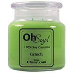 16oz. Jar Soy Candle - Grinch