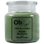 16oz. Jar Soy Candle - Brielle Bayberry