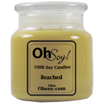 16oz. Jar Soy Candle - Beached
