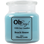 16oz. Jar Soy Candle - Beach House