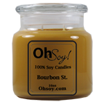 16oz. Jar Soy Candle - Bourbon St.