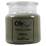 16oz. Jar Soy Candle - Embers
