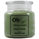 16oz. Jar Soy Candle - Green Earth