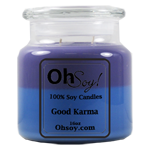 16oz. Jar Soy Candle - Good Karma