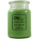 26oz. Jar Candle  -  Key Lime Pie