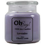 16oz Jar Candle  -  Lavender