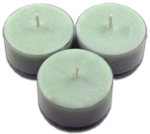 12pk Soy Tea Lights  -  Beach Grass