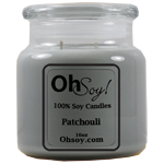 16oz Jar Candle  -  Patchouli