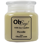 16oz Jar Candle  -  Pizzelle