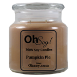 16oz Jar Candle  -  Pumpkin Pie