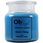16oz Jar Candle  -  Shore Thing