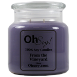 16oz. Jar Soy Candle - From The Vineyard