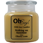 16oz. Jar Soy Candle - Walking on Sunshine