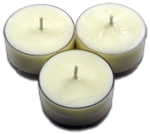 12pk Soy Tea Lights  -  White Pear