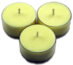 12pk Soy Tea Lights  -  Lemongrass