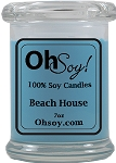 7oz. Jar Soy Candle - Beach House