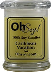 7oz. Jar Soy Candle - Caribbean Vacation