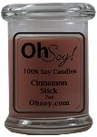 7oz. Jar Soy Candle - Cinnamon Stick