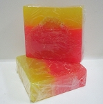 Grapefruit Scented Glycerin Loofah Soap