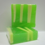 Green Tea Scented Glycerin Soap