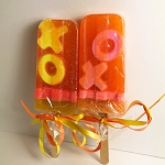 Mango Punch Scented Popsicle Glycerin Soap - X & O