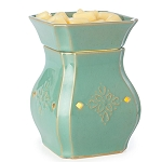Vintage Turquoise Illumination Wax Melter - CandleWarmers