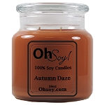 16oz. Jar Soy Candle - Autumn Daze