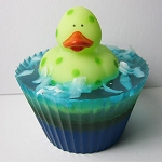 Green Rubber Ducky Mermaid Tales Scented Glycerin Soap - 5.5oz