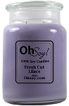 26oz. Jar Soy Candle - Fresh Cut Lilacs
