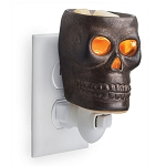 Skull Pluggable Wax Melter - CandleWarmers