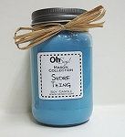 OhSoy Soy Mason Jar - Shore Thing