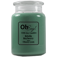 26oz. Jar Soy Candle - Brielle Bayberry
