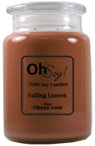 26oz. Jar Soy Candle - Falling Leaves