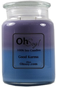 26oz. Jar Soy Candle - Good Karma