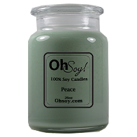 26oz. Jar Soy Candle - Peace