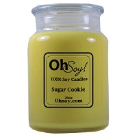 26oz. Jar Soy Candle - Sugar Cookie