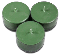 12pk Soy Tea Lights  -  Brielle Bayberry