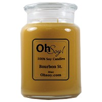 26oz. Jar Soy Candle - Bourbon St.