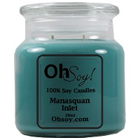 16oz. Jar Soy Candle - Manasquan Inlet