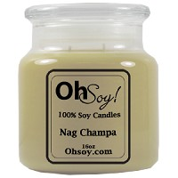 16oz Jar Candle  -  Nag Champa