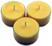12pk Soy Tea Lights  -  Walking on Sunshine