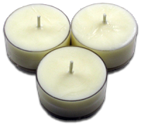 12pk Soy Tea Lights  -  White Tea & Ginger