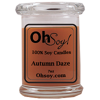 7oz. Jar Soy Candle - Autumn Daze