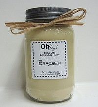 OhSoy Soy Mason Jar - Beached