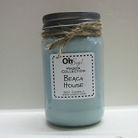 OhSoy Soy Mason Jar - Beach House