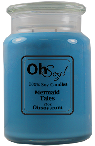 26oz. Jar Soy Candle - Mermaid Tales