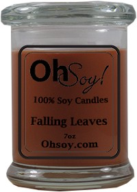 7oz. Jar Soy Candle - Falling Leaves
