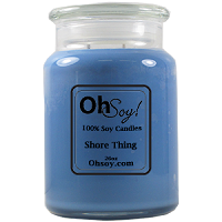 26oz. Jar Soy Candle - Shore Thing
